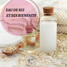 Bienfaits de l'eau de Riz Lotion, Zero Waste, Cosmetics, Zen, Hair, Beauty, Distilled Water, Homemade Beauty Products, Homemade Cosmetics
