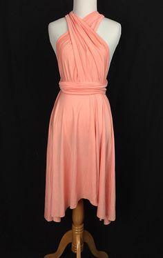 Green dressBridesmaid Dress Infinity DressKnee by ScholleDress