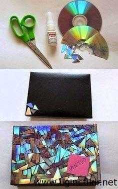 cd ile cüzdan kaplama