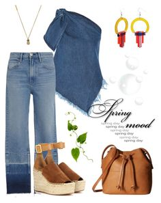 """Spring Mood."" by schenonek on Polyvore featuring moda, Marques'Almeida, Toolally, 3x1, Marc Jacobs, ECCO y Chloé"