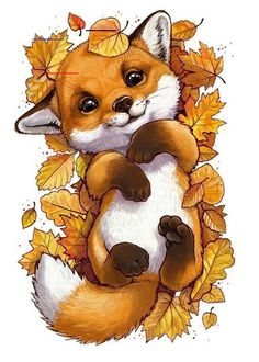 Tierillustration Tiere Tiere Best Picture For funny photo clean For Your Ta Cute Animal Drawings, Cute Drawings, Cute Fox Drawing, Drawing Animals, Pencil Drawings, Kawaii Drawings, Fox Art, Raccoon Art, Animal Wallpaper