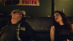 "Mr. Robot (Christian Slater) and Darlene (Carly Chaikin) in season 2, episode 9 of Mr. Robot, ""eps2.7_init_5.fve."""