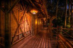 Enchanted Tiki Porch