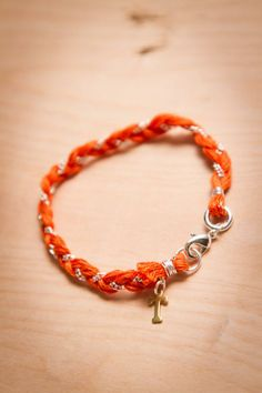 #Tennessee Volunteers Charm Bracelet by BourbonandBoots.com