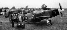 """North American P-51""""Mustang"""" Mk.III. Osobisty samolot mjr. Jana Zumbacha (HB868), dowódcy 133 Skrzydła Myśliwskiego."""