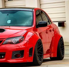 I really love cars and Subaru's are my favorite. Especially this beast of a hatchback.