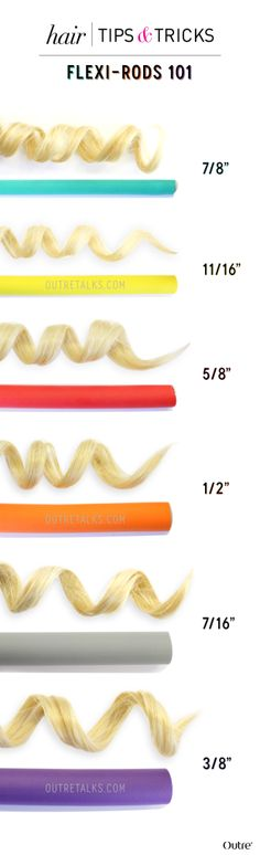 Flexi Rods 101: How to Create Heatless Curls :http://www.outretalks.com/flexi-rods-101-how-to-create-heatless-curls/