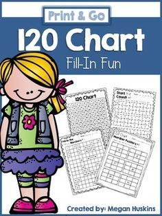 This packet is filled with: a 120 chart, 15 Fill-In the missing number ...
