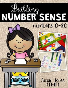 We are THREE weeks in! Already! I can hardly believe it.     We have been working hard on building number sense in my 1st grade classroom, ...