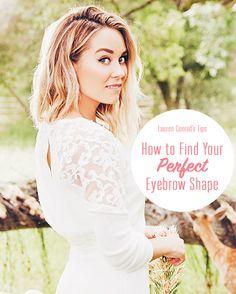 Lauren's secret for perfect eyebrows
