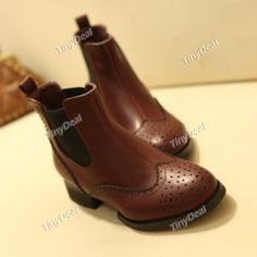 Casual Leather Purity Women's Shoes Boots