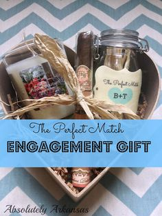 The Perfect Match Engagement gift! Matches & a candle/Cigar