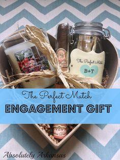 DIY Engagement Basket {GUEST POST | Engagement basket, Basket gift ...