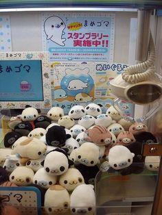 "Mamegoma Plushies! Little Seal ""adoption""."