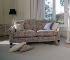 Parker Knoll Classic Harrow 3 Seater Sofa Available From George F Knowles