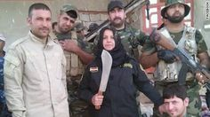 A self-described housewife, Wahida Mohamed has been fighting ISIS, and before that Al-Qaida, for years. She says they've tried to kill her many times but she keeps fighting. CNN's Ben Wedeman has more.