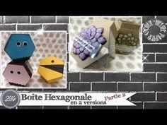 """Vidéo-Tuto """"Boîtes Hexagonales... et un peu plus ! - Partie 2"""" par Coul'Heure Papier - YouTube"""