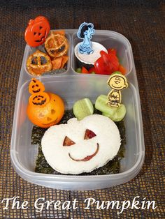 The Great Pumpkin #Easylunchboxes