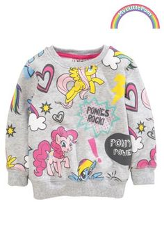 Buy Grey My Little Pony Crew (3mths-6yrs) from the Next UK online shop