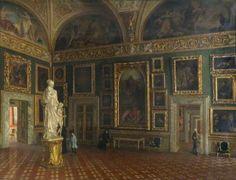 Pitti Palace, Florence.  By John Lavery