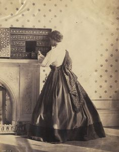 1860s - Lady Hawarden used the entire first floor of the property as a studio, within which she kept a few props, many of which have come to be synonymous with her work