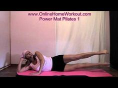 A 35 minute beginner/intermediate Pilates workout- at home! Really loving Pilates right now.