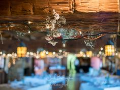 Interior Detail shot at Navy Hall in Niagara On The Lake. They hung Babys Breath along the beams in this gorgeous rustic wedding venue. #JoshBellinghamPhotography