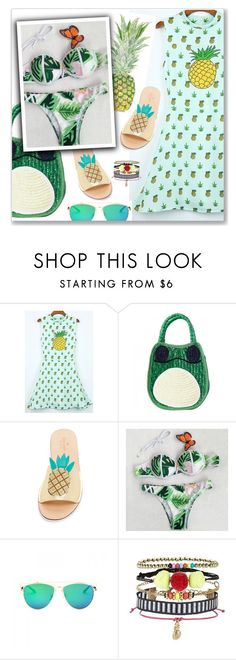 """""""#18"""" by lejla-7 ❤ liked on Polyvore featuring Kate Spade and New Look"""