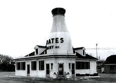 1976 Frates Bottle Restaurant - New Bedford, Ma - www.WhalingCity.net  We had ice cream here all the time!