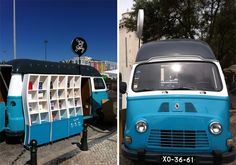Mobile Van Bookstore Showcases Portuguese Writers - Inthralld