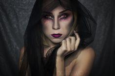 Makijaż na Halloween - Wampirzyca [Marta Wojnarowska]