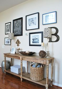 New Home Tour, Amy's House from 11 Magnolia Lane with before and afters. Room Makeovers with paint and auction finds.