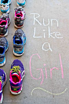 Run Like a Girl: Lacing Up Together | cookincanuck.com #running #exercise #fitness by CookinCanuck, via Flickr