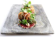 Venison Carpaccio recipe by Madalene Bonvini-Hamel; Chef, Photographer and Founder of The British Larder – The British Larder