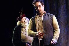 2005 - Michael Gambon (Falstaff) and Matthew Macfadyen (Prince Hal) in 'Henry IV Part 1'    Photo by Catherine Ashmore