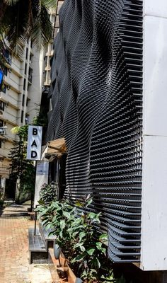 Nudes is part of architecture - Completed in 2015 in Mumbai, India Images by Sameer Chawda The human skin is an anatomical barrier in bodily defense from pathogens and damage between the internal and external environment It also contains Building Skin, Building Facade, Building Design, Facade Design, Wall Design, Exterior Design, Texture Sol, Panneau Mural 3d, Retail Facade