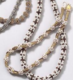Pattern bijoux: Embellished Ndebele rope