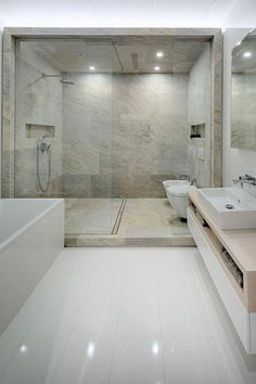 A Modern Home with Personality of Perfect for a Fun Couple – Bathrooms – Bathroom Ideas Studio Apartments, Couples Bathroom, Little Dream Home, Modern Bathroom Design, Bathroom Designs, Bathroom Ideas, Couple Bedroom, Minimalist Bathroom, Bathroom Renovations