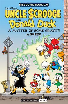 Between Disney: Cap's Comics - Walt Disney Uncle Scrooge and Donald Duck: A Matter of Some Gravity