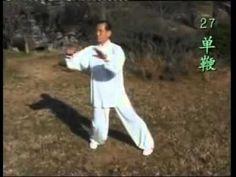 杨澄甫式式太极拳91式 侯铁成大师 杨氏太极拳 太极拳 杨振基 真正的中国功夫真正的杨门传统太极 - YouTube
