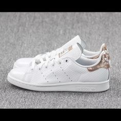 Adidas Stan Smith White Copper Brand New Sold Out Adidas Stan Smith brand new, sold out in US, size 8.5 (run big) Adidas Shoes Sneakers