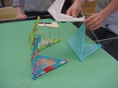 Making A Tetrahedral Kite Kite Designs, Go Fly A Kite, All Covers, Tissue Paper, Projects To Try, How To Plan, Crafts, Beavers, Science Experiments