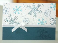 The Snowflake spot, Stampin' Up