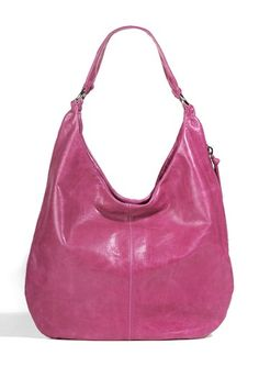 You always have room for a hot pink hobo bag in your wardrobe.