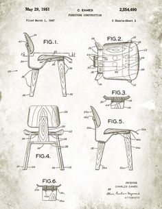 Charles & Ray Eames / DCW Chair
