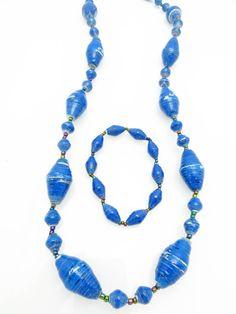 Blue oval 2 pc set