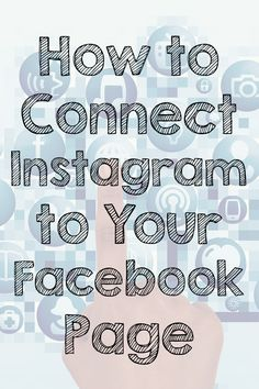 Want to share your Instagram photos with your blog's Facebook followers? Connect Instagram to your Facebook page with these simple steps!