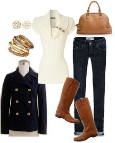 """""""Fall Classics"""" by fleurdelove on Polyvore"""