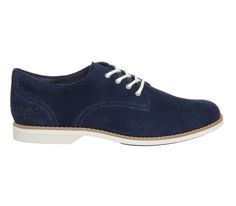 Timberland Millway Oxford Lace Up Navy Suede - Flats