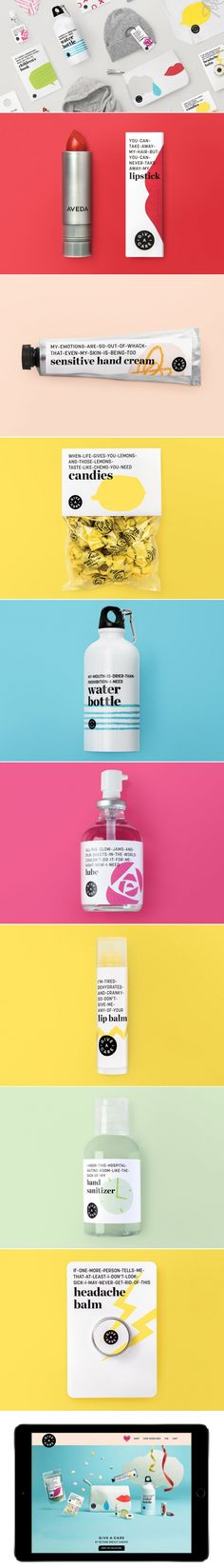 Rethink Breast Cancer Give-A-Care Collection — The Dieline - Branding & Packaging Design